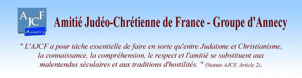 Amitié Judéo-Chrétienne d'Annecy